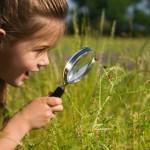 copii si natur