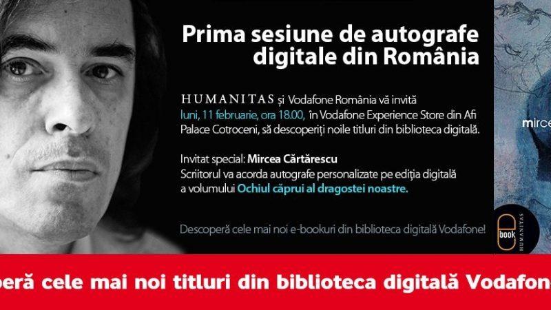 Prima sesiune de autografe digitale din Romania