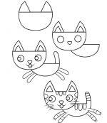Cum  desenam o pisica