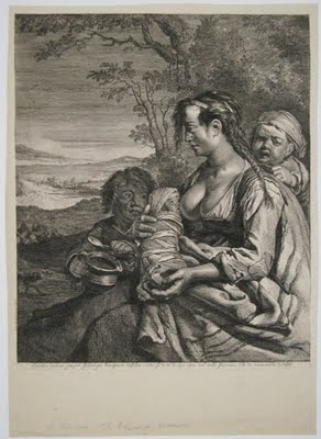 [The Gypsy] ca. 1650 by Dutch artist