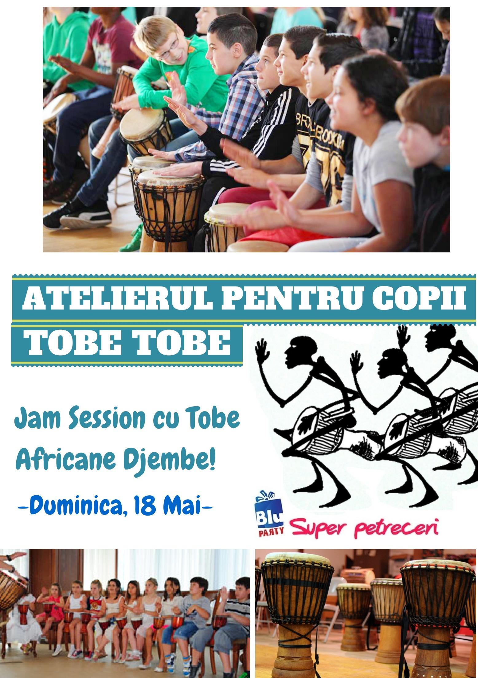 Atelierul Tobe Tobe pentru copii