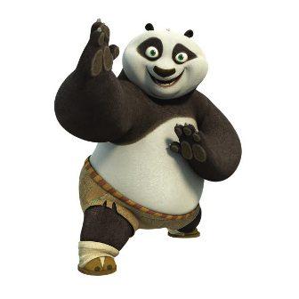 Prima lectie de Kung Fu… Panda :)
