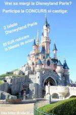 Concurs: Castiga doua intrari la Disneyland Paris
