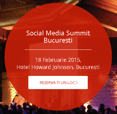 Va astept la Social Media Summit 2015