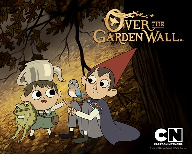 """Over the garden wall"""