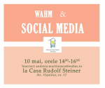"Sunt speaker la evenimentul ""WAHM love Social Media"""