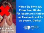 Parintii din Germania sunt incurajati de catre Politie sa nu mai posteze pe FB poze cu cei mici