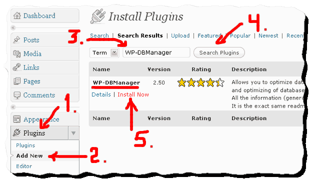 how-to-install-wp-dbmanager-plugin-for-wordpress