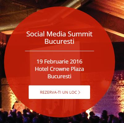 Social Media Summit Bucuresti 2016