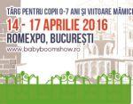 Intre 14 si 17 aprilie  va astept la Baby Boom Show