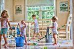 6 Pasi simpli pentru o camera curata