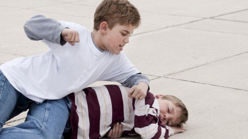 Ce faci cand copilul tau are un coleg violent?