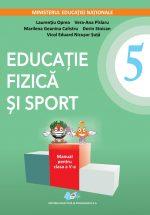Manual de sport si manual de dirigentie pentru clasa a 5a