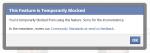 Facebook mi-a blocat accesul in retea si m-a amenintat ca-mi sterge contul