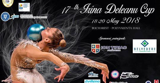 In acest weekend are loc Cupa Irina Deleanu la gimnastica ritmica