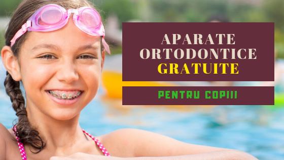 Aparate ortodontice gratuite pentru copii