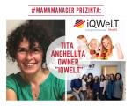 """#MamaManager prezinta: Tița Angheluță  owner """"iQWeLT – centru de limbă germană"""""""