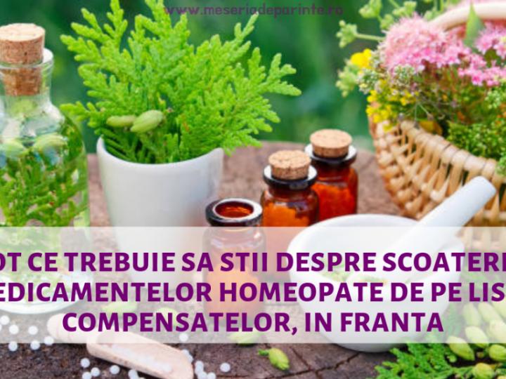 Tot ce trebuie sa stii despre scoaterea medicamentelor homeopate de pe lista compensatelor, in Franta