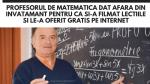 Ioan Ursu – profesorul de matematica dat afara din invatamant pentru ca si-a filmat lectiile si le-a oferit GRATIS pe internet