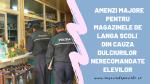 170.000 lei  amenda pentru magazinele de la școlile din București și Ilfov, din cauza dulciurilor nerecomandate elevilor