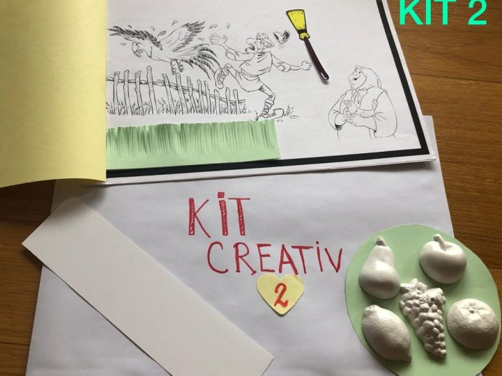 KITURI CREATIVE pentru copii. 3 variante de activitati interesante pentru cei mici