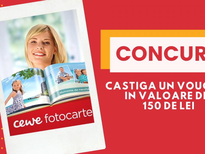 Toate pozele dragi, adunate intr-o FOTOCARTE CEWE + #CONCURS