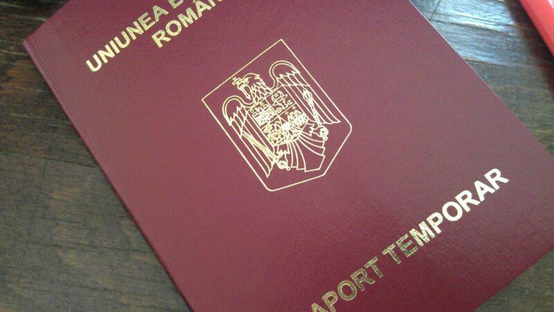 Acte necesare pașaport temporar in regim de urgenta