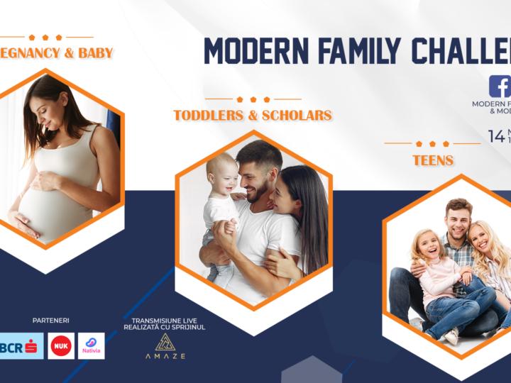 Modern Family Challenges – un proiect dedicat familiei