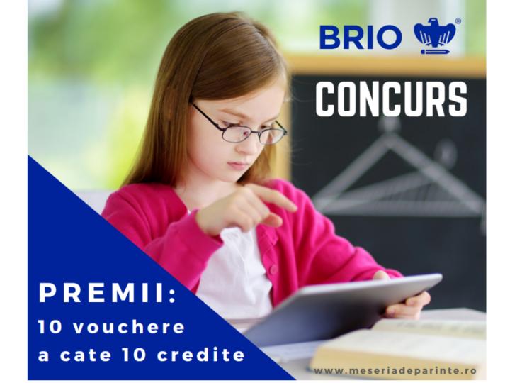 #CONCURS Castiga credite Brio pentru copilul tau