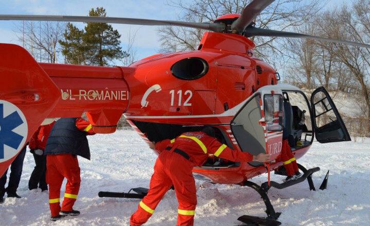 Accident la Sinaia. Un copil a căzut din Telescaun