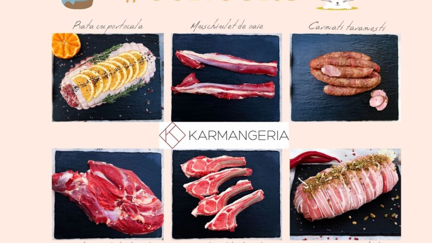 S-a lansat Karmangeria.ro, magazinul tău de carne + CONCURS