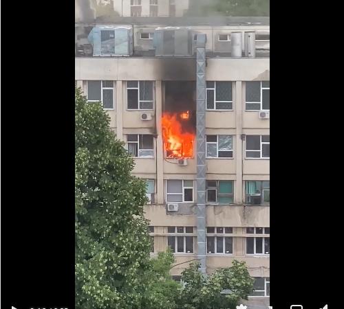 INCENDIU la Spitalul de Copii 'Sfânta Maria' din Iași