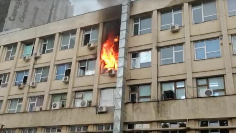 S-a finalizat ancheta incendiului de la spitalul de copii din Iași