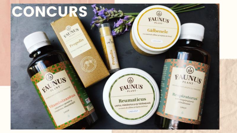 CONCURS! Castiga un pachet cu produse naturale de la Faunus Plant