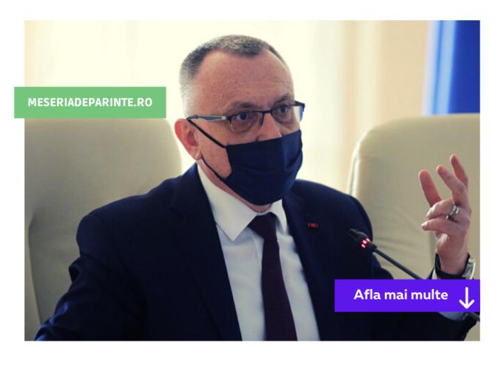 Sorin Cîmpeanu: Nu avem platforme dedicate pentru evaluarea online