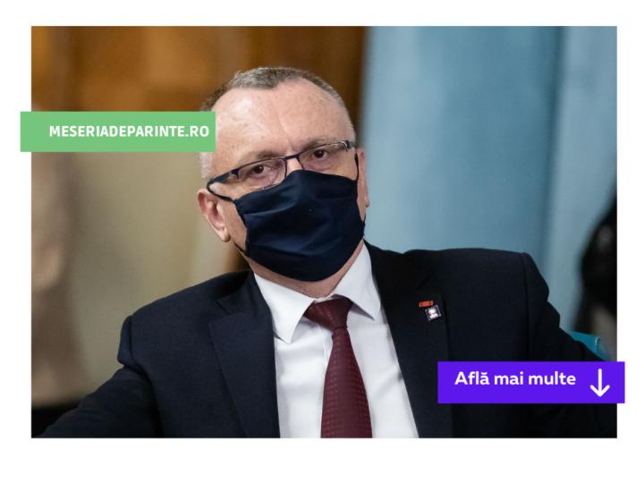 """Sorin Cîmpeanu: """"Învățământul online e un dezastru"""""""